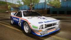 Lancia Rally 037 Stradale (SE037) 1982 HQLM PJ2 für GTA San Andreas