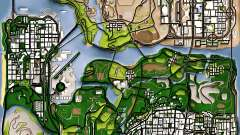 Remaster Map Full Version pour GTA San Andreas