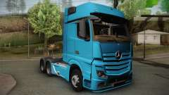 Mercedes-Benz Actros Mp4 6x4 v2.0 Gigaspace v2