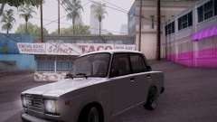 VAZ 2107 Tipo-stance