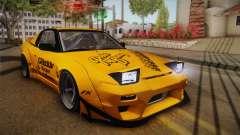 Nissan 180SX Rocket Bunny für GTA San Andreas