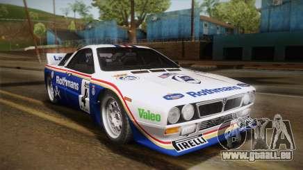 Lancia Rally 037 Stradale (SE037) 1982 HQLM PJ2 pour GTA San Andreas