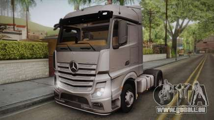 Mercedes-Benz Actros Mp4 4x2 v2.0 Steamspace v2 pour GTA San Andreas