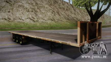GTA 5 Army Flat Trailer IVF pour GTA San Andreas