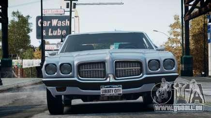Pontiac LeMans Coupe 1971 für GTA 4