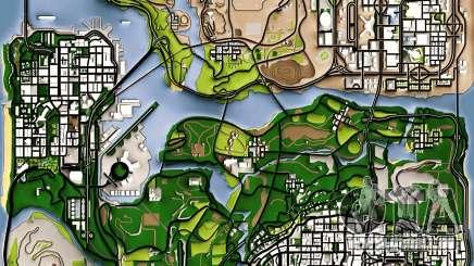 Remaster Map Full Version für GTA San Andreas