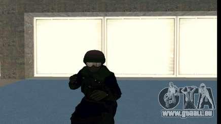GTA 5 FIB SWAT Blue für GTA San Andreas