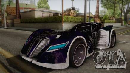 Batman Arkham Asylum Batmobile für GTA San Andreas