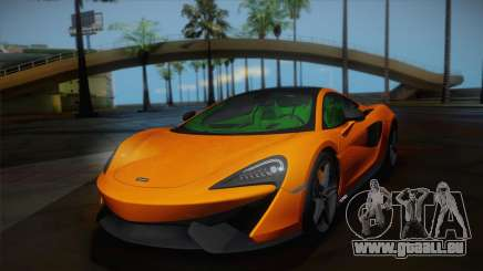 McLaren 570GT 2016 pour GTA San Andreas