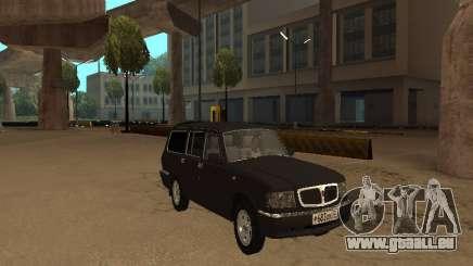 GAZ-310221 für GTA San Andreas