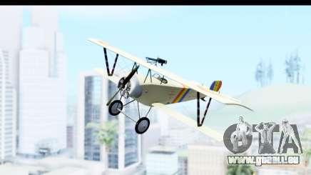 Nieuport 11 Bebe - Nr.865 Romania für GTA San Andreas