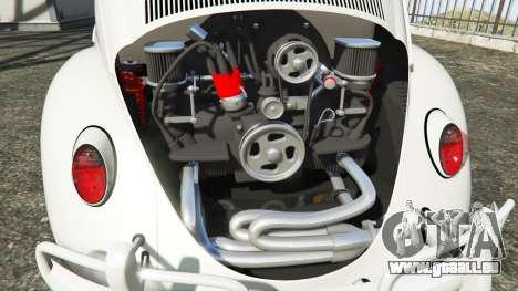 GTA 5 Volkswagen Fusca 1968 v1.0 [add-on] rechte Seitenansicht