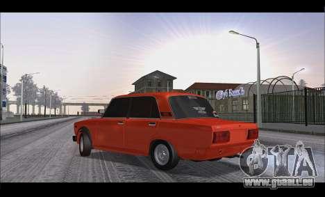 VAZ 2105 patch v3 pour GTA San Andreas laissé vue
