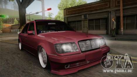 Mercedes-Benz E500 German Style für GTA San Andreas
