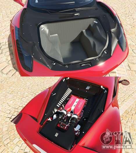 GTA 5 Ferrari 458 Italia v2.0 [add-on] rechte Seitenansicht
