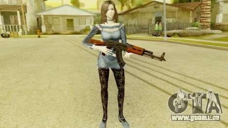 Fatal Frame 5 - Hisoka pour GTA San Andreas troisième écran
