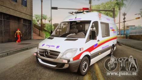 Mercedes-Benz Sprinter 2012 SA EMS Alliance für GTA San Andreas