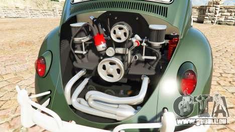 GTA 5 Volkswagen Fusca 1968 v1.0 [replace] rechte Seitenansicht