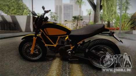 GTA 5 Pegassi Esskey PJ4 für GTA San Andreas linke Ansicht