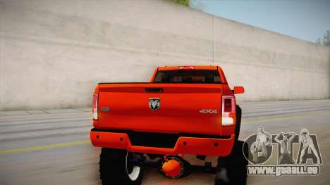 Dodge Ram 2500 Lifted Edition für GTA San Andreas obere Ansicht