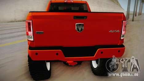 Dodge Ram 2500 Lifted Edition für GTA San Andreas rechten Ansicht