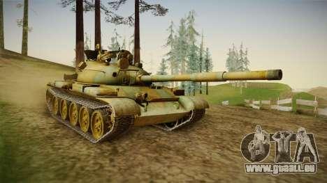 T-62 Desert Camo v2 pour GTA San Andreas