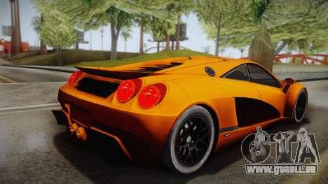 HTT Plethore LC750 2012 pour GTA San Andreas laissé vue