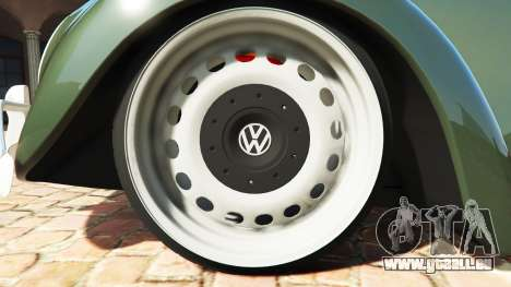 GTA 5 Volkswagen Fusca 1968 v1.0 [replace] hinten rechts