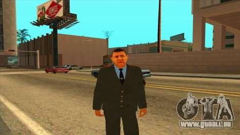 Karpov v1 pour GTA San Andreas deuxième écran