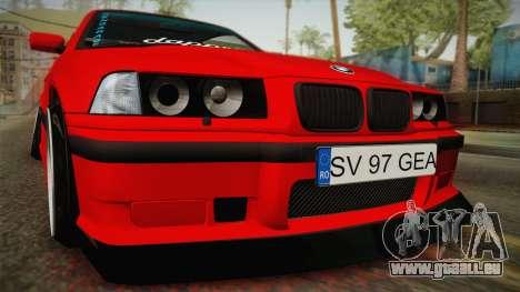 BMW M3 E36 Stance für GTA San Andreas rechten Ansicht