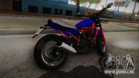 GTA 5 Pegassi Esskey PJ5 pour GTA San Andreas laissé vue