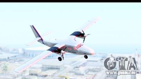 DHC-6-400 Nepal Airlines für GTA San Andreas zurück linke Ansicht