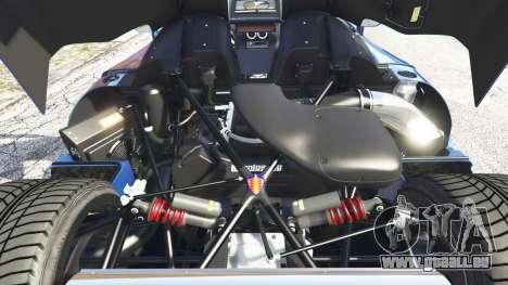 GTA 5 Koenigsegg CCX 2006 [Autovista] v2.0 [replace] droite vue latérale