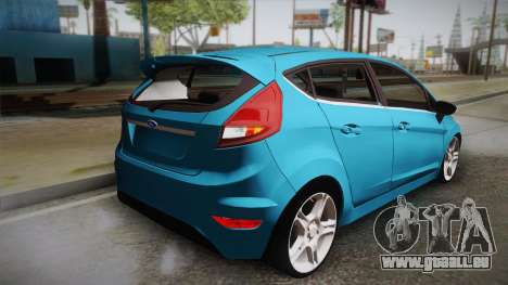 Ford Fiesta Kinetic Design für GTA San Andreas linke Ansicht