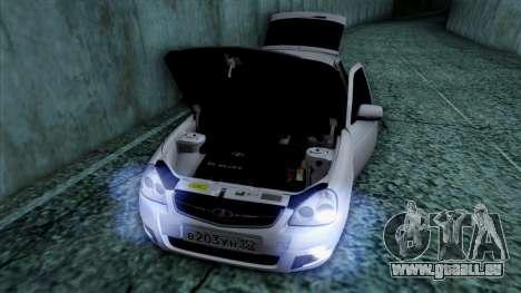 Lada Priora pour GTA San Andreas roue