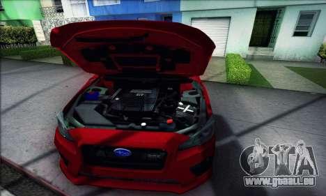 Subaru WRX 2015 für GTA San Andreas rechten Ansicht