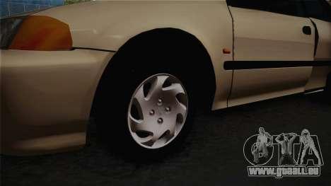 Honda Civic Sedan EX 1993 pour GTA San Andreas vue arrière
