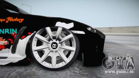 Mazda RX-8 VIP Stance Shimakaze Itasha für GTA San Andreas zurück linke Ansicht