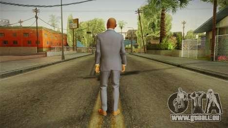 Quantum Break - Martin Hatch (Lance Reddick) für GTA San Andreas dritten Screenshot