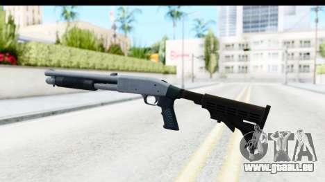 Tactical Mossberg 590A1 Chrome v4 pour GTA San Andreas deuxième écran