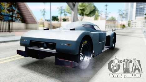 GTA 5 Annis RE-7B IVF pour GTA San Andreas sur la vue arrière gauche