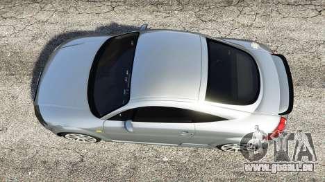 GTA 5 Audi TT (8N) 2004 [replace] vue arrière