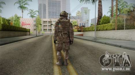 Multicam US Army 5 v2 für GTA San Andreas dritten Screenshot