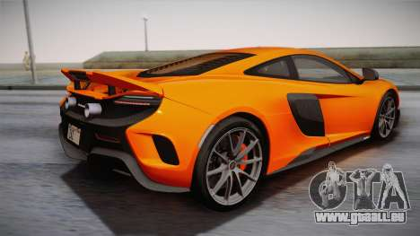 McLaren 675LT 2015 10-Spoke Wheels für GTA San Andreas linke Ansicht