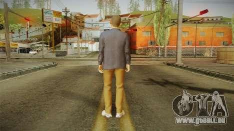 Quantum Break - William Joyce (Dominic Monaghan) für GTA San Andreas dritten Screenshot