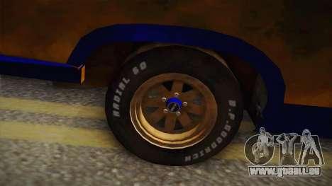 Ford Falcon 1973 Mad Max: Fury Road für GTA San Andreas Rückansicht