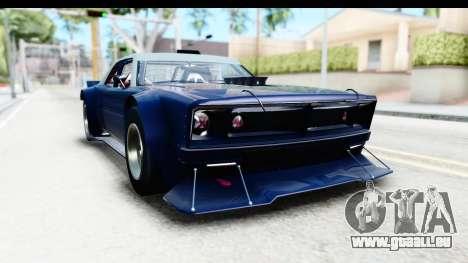 GTA 5 Declasse Tampa Drift pour GTA San Andreas sur la vue arrière gauche