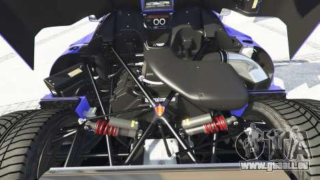 GTA 5 Koenigsegg CCX 2006 [Autovista] v2.0 [add-on] rechte Seitenansicht