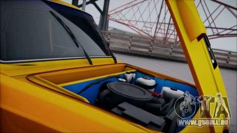 VAZ 2105 patch 1.1 pour GTA San Andreas vue intérieure