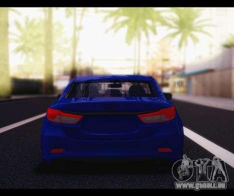 Mazda 6 Stance für GTA San Andreas rechten Ansicht